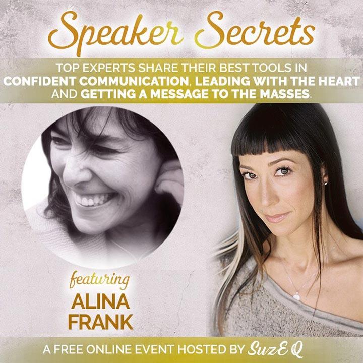 Speaker Secrets featuring Alina Frank
